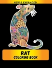 Rat Coloring Book (New & Expanded): Wonderful rat Coloring Book For rat Lover, Adults, Teens Cover Image
