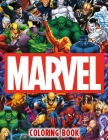 Marvel Coloring Book Cover Image