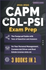 CAPM-CDL-PSI Exam Prep [3 Books in 1]: The Foolproof Guide with Tens of Question and Answers for Your Personal Management, Commercial Driver and Real Cover Image
