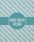 Horse Health Record: Care & Information Book, Riding & Training Activities Log Diary, Daily Feeding Journal, Competition Records Cover Image