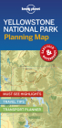 Lonely Planet Yellowstone National Park Planning Map 1 (Planning Maps) Cover Image