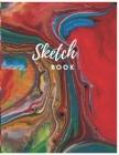 Sketch Book: Colorful Abstract Sketchbook Journal: Large Notebook for Drawing, Doodling or Sketching: Sketchbook, Workbook, Handboo Cover Image
