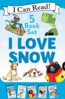 I Love Snow: I Can Read 5-Book Box Set: Celebrate the Season by Snuggling Up with 5 Snowy I Can Read Stories! Cover Image