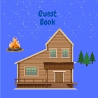Cabin Guest Book Cover Image