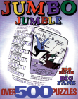 Jumbo Jumble(r): A Big Book for Big Fans Cover Image