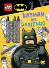 LEGO(R) Batman(TM): Batman and Friends (Coloring Books with Covermount) Cover Image
