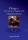 Clergy of the Church of England 1835 - Part Two: A Biographical Directory Cover Image