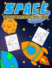 Space Coloring Book: Children's Activity Coloring Outer Space Themed Books For Kids, Kindergarten And Elementary / Children's Coloring Book Cover Image