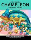 Chameleon Coloring Book: Stress-relief Coloring Book For Grown-ups Cover Image