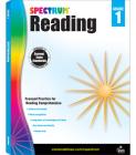 Spectrum Reading Workbook, Grade 1 Cover Image