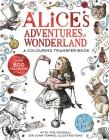 Alice's Adventures in Wonderland: A Colouring Transfer Book Cover Image