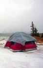 Notebook: camping tent camp winter adventure travel Cover Image