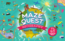 Maze Quest Geography: Travel the Globe! Cover Image