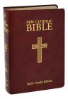 New Catholic Bible--Medium Print (Burgundy) Cover Image