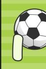 I: Soccer Monogram Letter I Initial Notebook - 6
