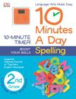 10 Minutes a Day: Spelling, Second Grade: Supports National Council of Teachers English Standards Cover Image