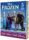 Frozen Little Golden Book Library (Disney Frozen): Frozen; A New Reindeer Friend; Olaf's Perfect Day; The Best Birthday Ever; Olaf Waits for Spring Cover Image