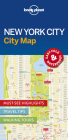 Lonely Planet New York City Map 1 Cover Image