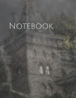 Notebook: castle fog mystical mood atmosphere masonry flash medieval Cover Image