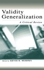 Validity Generalization: A Critical Review (Applied Psychology) Cover Image