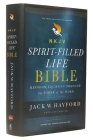 NKJV, Spirit-Filled Life Bible, Third Edition, Hardcover, Red Letter Edition, Comfort Print: Kingdom Equipping Through the Power of the Word Cover Image
