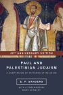 Paul and Palestinian Judaism: 40th Anniversary Edition Cover Image