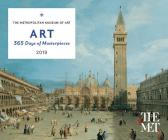 Art: 365 Days of Masterpieces 2019 Desk Calendar Cover Image