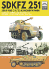 Sdkfz 251 - 251/9 and 251/22 Kanonenwagen: German Army and Waffen-SS Western and Eastern Fronts, 1944-1945 Cover Image