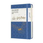 Moleskine 2022 Harry Potter Daily Planner, Pocket, Antwerp Blue, Hard Cover (3.5 x 5.5) Cover Image