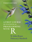 A First Course in Statistical Programming with R Cover Image