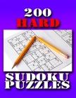 200 Hard Sudoku Puzzles: 2020 Latest Edition Cover Image