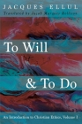 To Will & To Do Cover Image