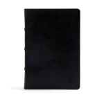 CSB Pastor's Bible, Black LeatherTouch Cover Image