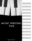Music Writing Pad: Staff Music Writing Pad - 12 Staves per Page, 100 Pages, 8.5 x 11