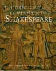 The Oxford Companion to Shakespeare (Oxford Companions) Cover Image