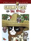 Creative Haven Grumpy Cat vs. the World Coloring Book (Creative Haven Coloring Books) Cover Image