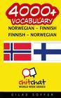 4000+ Norwegian - Finnish Finnish - Norwegian Vocabulary Cover Image