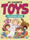My Favorite Toys Coloring Book Cover Image
