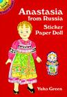 Anastasia from Russia Sticker Paper Doll Cover Image