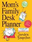 Mom's Family Desk Planner Calendar 2019 Cover Image