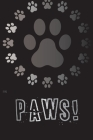 Dog Paws: Unique Discrete Password Logbook for Pet Lovers, Dog Paws Design for Dog Dad and Dog Mom Cover Image