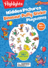 Dinosaur Hidden Pictures Puffy Sticker Playscenes (Highlights Puffy Sticker Playscenes) Cover Image