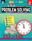180 Days of Problem Solving for Second Grade: Practice, Assess, Diagnose (180 Days of Practice) Cover Image