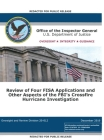 Office of the Inspector General Report: Review of Four FISA Applications and Other Aspects of the FBI's Crossfire Hurricane Investigation Cover Image