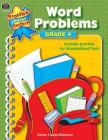 Word Problems Grade 4 (Practice Makes Perfect (Teacher Created Materials)) Cover Image