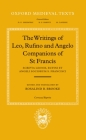 Scripta Leonis, Rufini, Et Angeli Sociorum S. Francisci (Oxford Medieval Texts) Cover Image