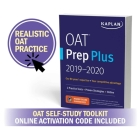 OAT Self-Study Toolkit 2020: OAT Prep Plus Book + 4 Practice Tests + Qbank (Kaplan Test Prep) Cover Image