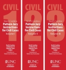 North Carolina Pattern Jury Instructions for Civil Cases, 2020 Edition: Volume 1-3 Cover Image
