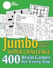 USA TODAY Jumbo Puzzle Book Super Challenge: 400 Brain Games for Every Day (USA Today Puzzles #27) Cover Image