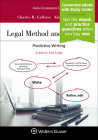 Legal Method and Writing I: Predictive Writing (Aspen Coursebook) Cover Image